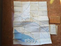 RARE German ww2 DAK Afrika Korps Maps Plans Alexandria 1940 Berlin Military Army