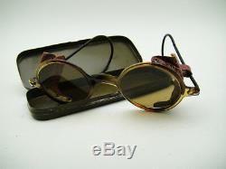 RARE LUFTWAFFE Sunglasses German FLYING WW2 VINTAGE Goggles PILOT AVIATOR Air LA