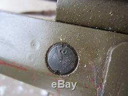 Rare Original Wwii German Mg34 Mg42 Tripod- Dated 1941