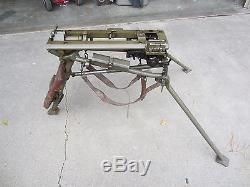 Rare Original Wwii German Mg34 Mg42 Tripod- Dated 1943