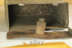 RARE ORIGINAL WWII German Sapper DEMOLITION CHARGE 3KG Empty zinc Box