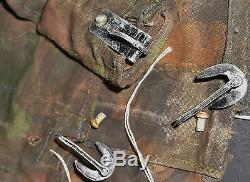 RARE Original WW2 German ELITE Blurred Edge Helmet Cover, Uniform Field Gear Cap
