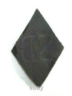 RARE, Original WWII German SD EM/NCO Shoulder Sleeve Diamond