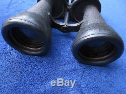 Rare Ww2 Original German Kriegsmarine Dienstglas Navy Military Binoculars