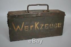 RARE WWII German MG34 MG42 Kl. Waffenmeister Werkzeug Tool Kit Original AVE 1944