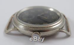 Rare Omicra pilot aviator German military wwII era 1940 lufwaffe watch 40mm