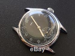 Rare Original Military German Watch Bwc Luftwaffe (d) Wehrmacht Ww2 Working