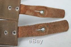 Rare Original WW2 WWII German Canavas Bag Army
