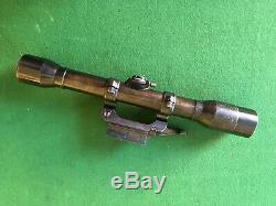 SCOPE ORIGINAL WWII K98 GERMAN SNIPER / Zielfernrohr Wetzlar-Dialytan bmj +