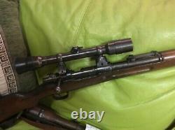 SCOPE/ ZIELFERNROH ORIGINAL WWII K98 GERMAN SNIPER/ Wetzlar-Dialytan bmj + / box