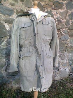 SS Elite Kharkov Parka Coat WW2 German Original Very Rare