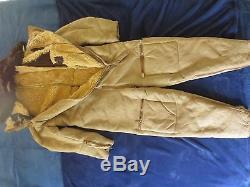 Super Rare Original German Ww2 Arctic Luftwaffe Pilot`s Complete Winter Suit