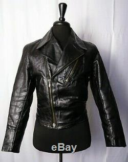 SUPER RARE Original 1940's WW2 HORSEHIDE Leather German Luftwaffe Jacket 36R