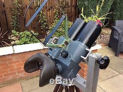 Superb Original WW2 WWII German DF 10 x 80 cxn Flakglas Binoculars