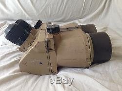 Superb Original WW2 WWII German DF 10 x 80 cxn Flakglas Binoculars Tan Luftwaffe