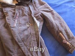 Very Rare Original German Ww2 Luftwaffe Pilot`s Channel Winter Suit