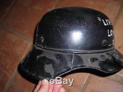 VINTAGE Original WW2 German Helmet RL2- 39/42