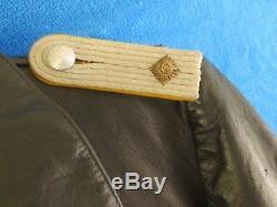 Very Rare Original German Ww2 Luftwaffe Pilot`s Leather Channelsuit Excellent