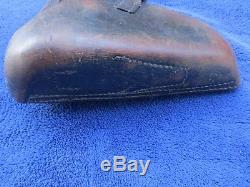 Very Rare Ww2 Original German K Date 1934 Luger P08 Hardshell Holster And Tool