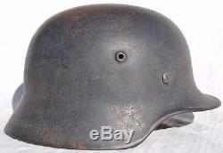 Vintage German Wwii Combat Helmet Original Local Estate Sale Never Restored Ww2