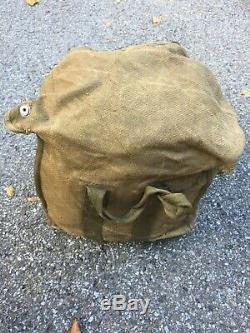 Vintage Original WWII German Fallschirmjager 1943 RZ 20 Parachute World War 2