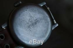 Vintage large WWII German Laco 1941 Luftwaffe Military Pilot's Watch