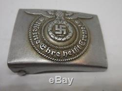 WW II Original German Belt and a Buckle SS