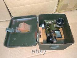 WW2 8 cm GrWe34 Granat Werfer 34 German mortar sight & box RA. 35