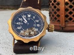 WW2 B-Uhr FLIEGER GERMAN LUFTWAFFE PILOT Watch Original Swiss 6497 Movement