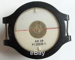 WW2 EX RARE GERMAN AK39 LUFTWAFFE NAVIGATION PILOT FIELD WRIST COMPASS original