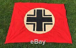 Ww2 German 1939 Invasion Blitkrieg Balkan Cross Vehicle ID Flag France Original