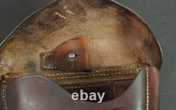 WW2 GERMAN P. 08 LUGER HOLSTER, BROWN,'cey40', WaA47