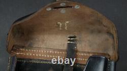 WW2 GERMAN P. 38 HOLSTER, WaA706, 1941 HARDSHELL ORIGINAL