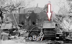 WW2 GERMAN Panzer Tank Pz. Kpfw. VI Tiger I rear mudguard (LSSAH) SUPER RARE