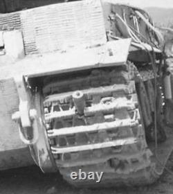 WW2 GERMAN Tank Pz. Kpfw. VI Tiger I BATTLE DAMAGED Wermacht MEGA RARE