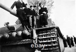 WW2 GERMAN Tank Pz. Kpfw. VI Tiger I Leibstandarte SS A. H March 1943 (LSSAH)