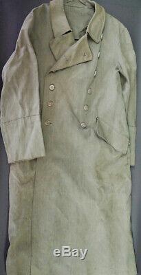WW2 GERMAN WEHRMACHT OFFICER'S RAINCOAT, RbN# ORIGINAL