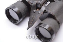 WW2 German 10X50 POWER BINOCULARS. Dienstglass marked rln VERY RARE