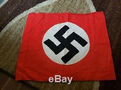WW2 German Banner Flag 100% Original