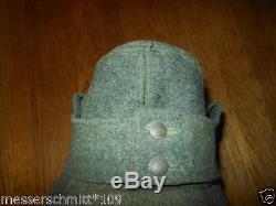 WW2 German EM/NCO M43 Field Cap Gebirgsjäger 100% ORIGINAL NICE