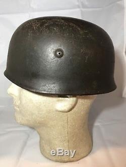 WW2 German Fallschirmjager Helmet Paratrooper Luftwaffe CKL68 ORIGINAL kia