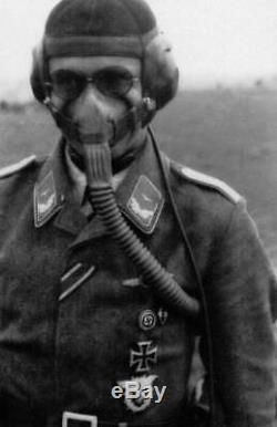WW2 German Luftwaffe 10-69 Sauerstoffmaske PILOT OXYGEN MASK Me109 SUPERB