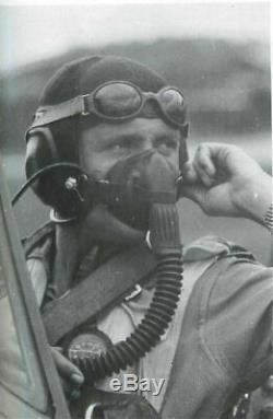 WW2 German Luftwaffe Nitsche u. Gunther SPLINTER PROOF PILOT GOGGLES MINT