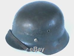 WW2 German M35 Luft helmet ET64 ALL ORIGINAL & COMPLETE