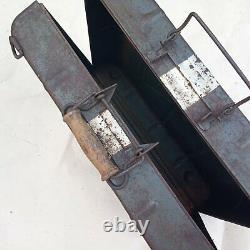 WW2 German M39 SMOKE G. STORAGE/TRANSPORTATION CASE. Nebelhandgranate 39