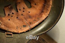 WW2 German M40 SD Heer helmet, NS64 Original