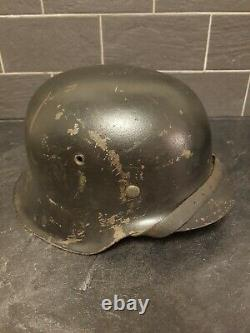 WW2 German M42 Helmet Original, large(size 68)