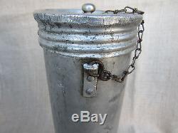 WW2 German Original Aluminium Pepper Pfeffer Container 1939