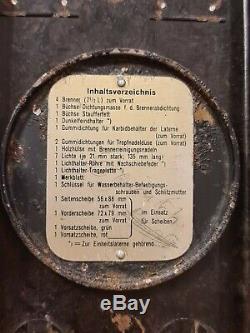 WW2 German Original Bakelite Carbide Lantern Lamp And Rare Accessories