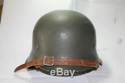 WW2 German Original Helmet WOW